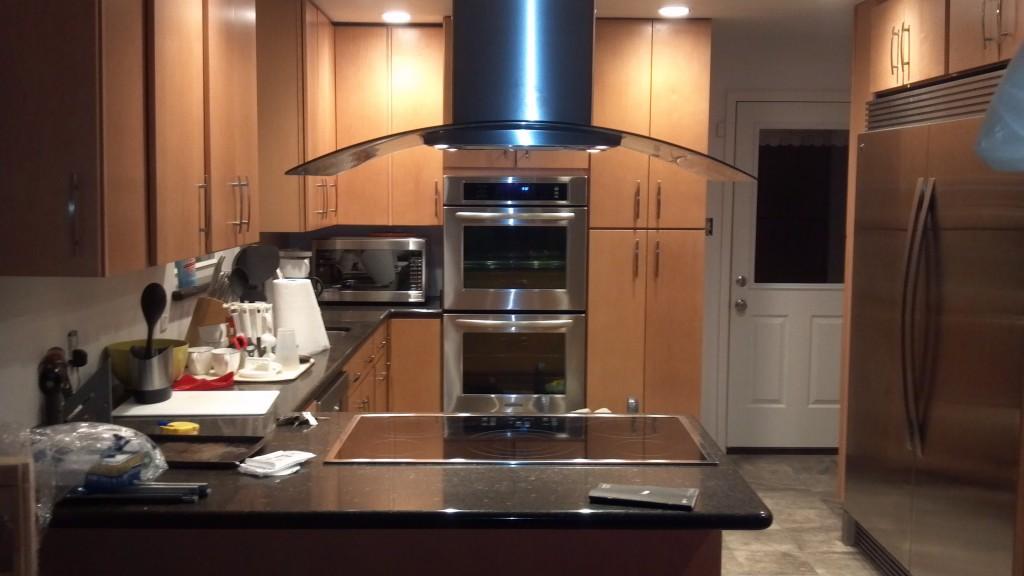 Kitchen remodel finished